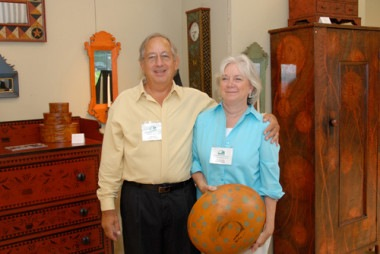 Dan & Marlene Coble - Painted Furniture - The Artisans Tent at Zoar