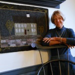 Marilyn Willmore - Primitive Hooked Rugs - The artisans tent at Zoar