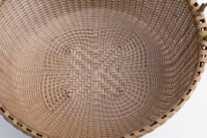 Quatefoil closeup, basket by Karen Wychock