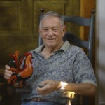 Don Noyes - Carver - The Artisans Tent at Zoar