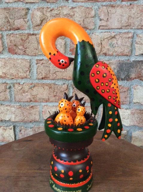 Don Noyes - Whimsical Carvings - The Artisans Tent at Zoar Ohio