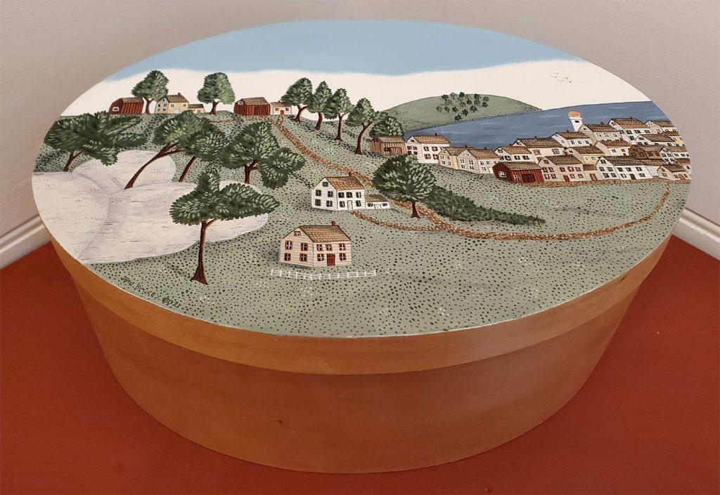 Joan Berkey - oil paintings - Zoar Harvest Festival